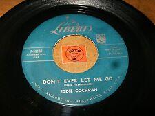 EDDIE COCHRAN - DON'T EVER LET ME GO - C'MON EVERYBODY   / LISTEN / ROCK POPCORN