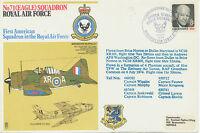 "GB 1974 Special Flights Royal Air Force flown Route ""RAF BRIZE NORTON – DULLES"