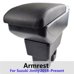 For Suzuki Jimny 2019 Dual Central Storage Console Armrest Storage Compartment