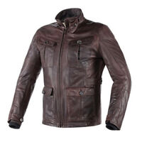DAINESE Jacket Leather HARRISON DARK brown 48,56,46
