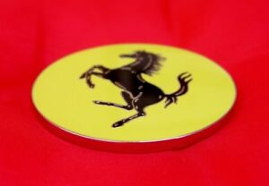 Ferrari Official Prancing Horse Wheel Badge, or Paper Weight? - Dino 246/208/308
