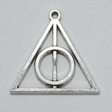 5 x Argento Tibetano Harry Potter I Doni Della Morte Ciondolo per collana