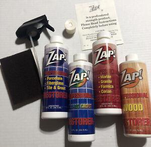 Zap! Professional Restorer Household Cleaner 4pk