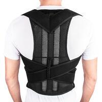 Men Women Magnetic Back Posture Corrector Shoulder Support Brace Belt Therapy