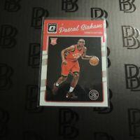 2016-17 Pascal Siakam Rookie Card Toronto Raptors RC Optic First Year NBA #171