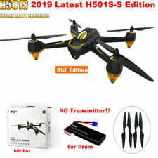 Hubsan H501S S Pro X4 FPV Drone Brushless 1080P RC Quadcopter GPS RTH BNF, 2019