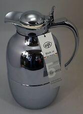 Alfi Isolierkanne Helena 1 Liter  Messing verchromt, Neu 1.Wahl, 0522 000 100
