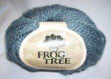 Frog Tree Meriboo 3-ply DK yarn 70% wool 30% bamboo 1.75oz #64 TEAL dye lot 146