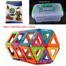 10,100,150 tlg Magnetische Bausteine Spielzeug Kinder Dreieck Platz Tutorial Box