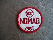 vintage 1967 SCAT NOMAD Sports Car Club racing rally patch 2
