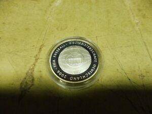 10 Euro Silber PP 2006 G , FIFA WM