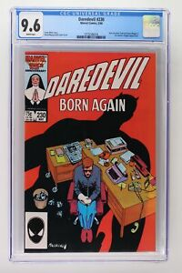 Daredevil #230 - Marvel 1986 CGC 9.6 Matt Murdock finds out Sister Maggie is his