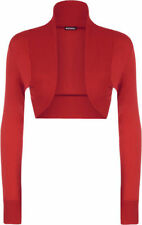 T-shirt, maglie e camicie da donna a manica lunga rosso taglia 48