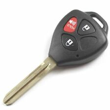 Oem 3 Button Replacement Toyota Yaris Scion Tc Remote Head Key MOZB41TG G Chip