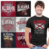 Alabama Tee Shirt Graphic State T-Shirt For Men Women Tees Shirts Gift Tshirt T