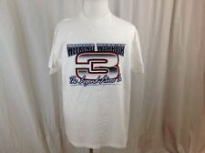 Vintage Dale Earnhardt Sr #3 Weekend Warrior The Legend Lives On T Shirt Size XL