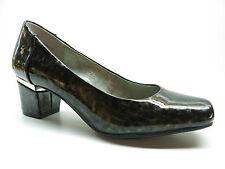 Me Too Pixie Black Platinum Water Color Patent High Heel Dress Pumps 7M MSRP $79