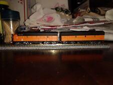 Bachman Plus N Scale Locomotive Custom Painted F7a & F7b Milwaukee Road #72a...