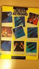 Rock e pop Creative TASTIERA Songbook 4: punteggio di musica (c4)