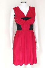 Marios Schwab Mainline Fuchsia Pink Pleated Mesh Dress UK 10 £1530