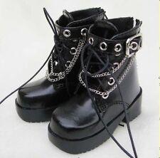 1/4 BJD MSD shoes Supper dollfie  New Black #SH032