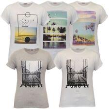 Mens Short Sleeved Printed T Shirt By Threadbare