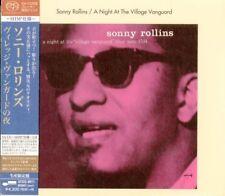 SONNY ROLLINS-A NIGHT AT THE VILLAGE...-JAPAN SHM-SACD BONUS TRACK Ltd/Ed K29