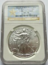 2012-W S$1 Silver Eagle coin - NGC MS 70, West Point Mint  (251015R)