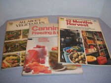 Gardening and Canning How-To-Books~1980's