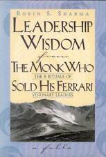 Leadership Wisdom from the Monk Who Sold His Ferrari Robin Sharma FREE USA Ship