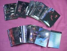 Babylon 5 Season 5 X81 card base set SkyBox 1998 VGC/FN