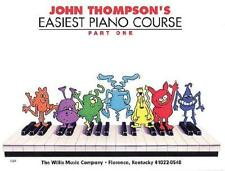 John Thompson's Easiest Piano Course - Part 1 - Book Only by John Thompson (a...