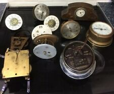 VARIOUS CLOCK MOVEMENTS SPARES AND REPAIRS