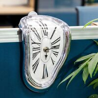 Distorted Wall Clocks Novel Surreal Melting Modern Home Art Decoration Watch New