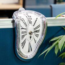 Distorted Wall Clocks Novel Surreal Melting Modern Home Art Decoration Watch New