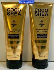 Bath & Body Works Coco Shea Honey Moisturizing Body Wash set of 2