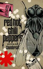 RED HOT CHILI PEPPERS / THUNDERCAT 2012 MINNEAPOLIS CONCERT TOUR POSTER