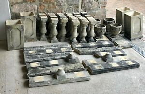 Reclaimed Stone Balustrades, Pillars and Copings