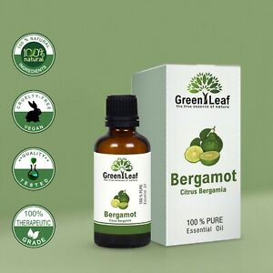 Bergamot Essential Oil 100% Pure Natural. Aromatherapy. 20ml, 100ml