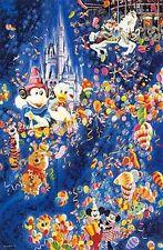 "Hiro Yamagata       ""Dream of Disneyland""       Serigraph on Paper   BA"