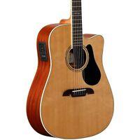 Alvarez Artist Series AD60CE Dreadnought Acoustic-Electric Guitar Natural