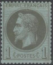 "FRANCE  STAMP TIMBRE N° 25 "" NAPOLEON  III 1c BRONZE 1870 "" NEUF xx TTB  K253"