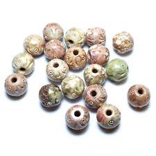 Speck Stein 15 mm, 2 Perle #4984 BACATUS Edelsteine