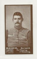 1894 N302 Mayo Cut Plug Football Reprint - William Mackie - Harvard Crimson