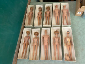 Vintage BARBIE Doll Lot, EARLY 1960s, Marked JAPAN, Blonde #3 or #4