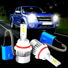 2Pcs 9007 HB5 LED Headlight Bulb 110W 6000K High Low Beam White Conversion Kit