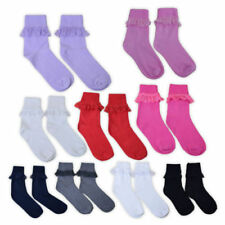 Calcetines de niña de 2 a 16 años con algodón
