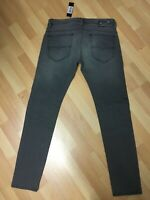 NWD Mens Diesel THAVAR XP ULTRA Smooth Stretch Denim R29V8 GREY Slim W31 L32 H6