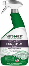 Vet's Best Flea and Tick Home Spray for Cats Flea Treatment for Cats 32 oz