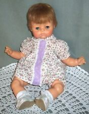 """2 PAIR of Fat Baby DOLL SHOES White Sandals fit 20"""" Madame Alexander Dolls"""